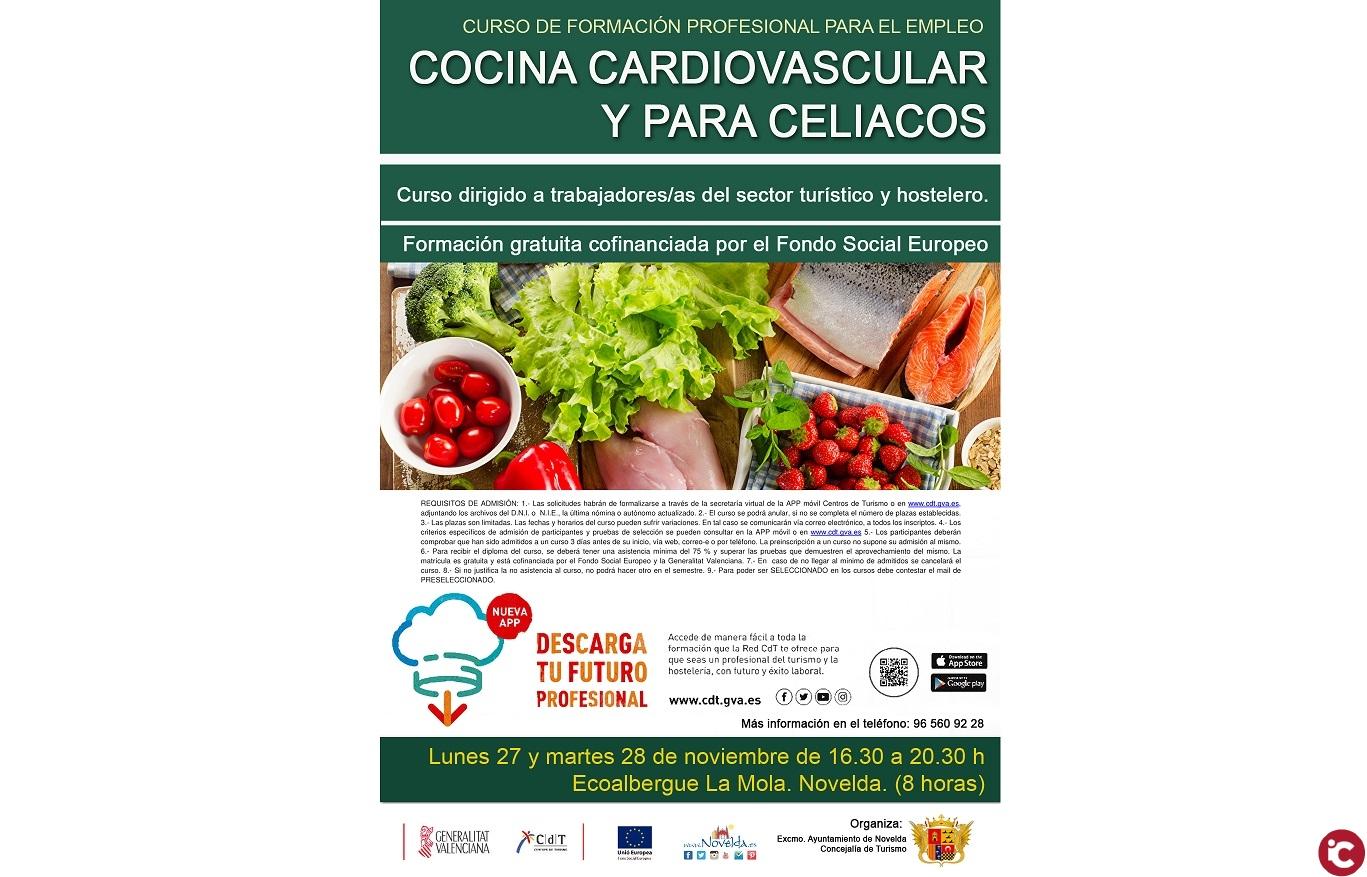 Celiacos En La Cocina | Novelda Curso De Cocina Cardiovascualar Y Para Celiacos